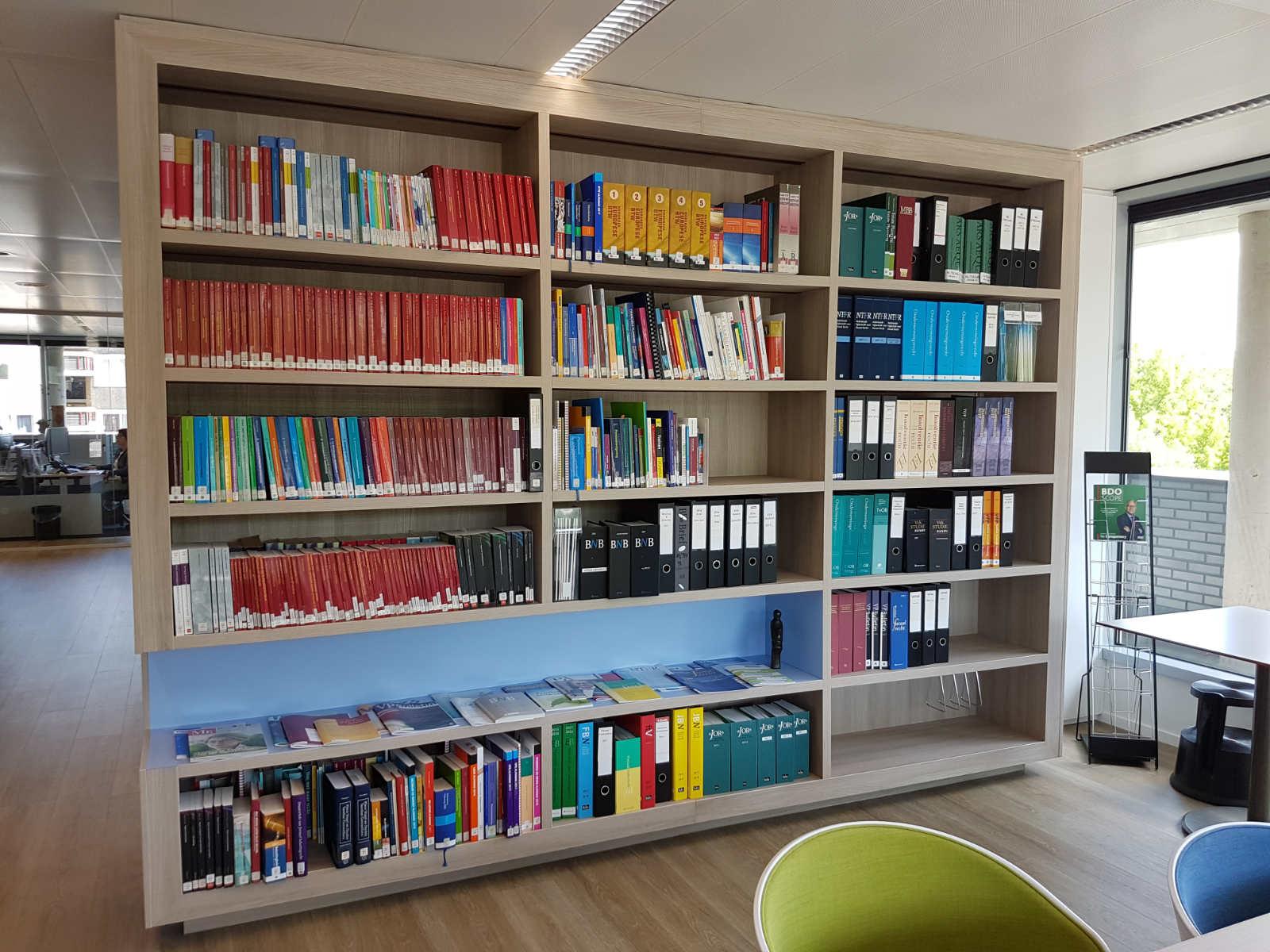 Kantoor 16234 BDO Boekenkast 1600-1200